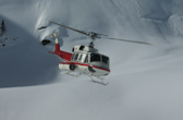 Bell UD-1H at the Monashee Maountains British Columbia (Canada)
