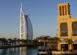 The Burj al Arab Hotel in Dubai